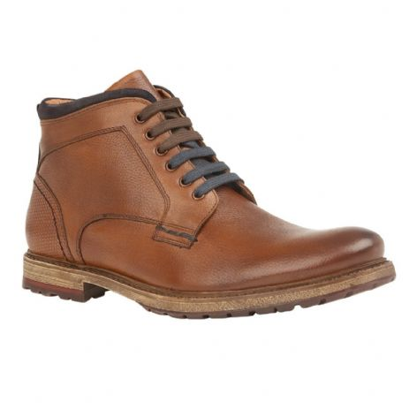 Lotus Teddington Mens Cognac Leather Boots